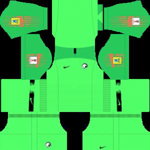 Saudi Arabia Goalkeeper Third Kit World Cup 2018