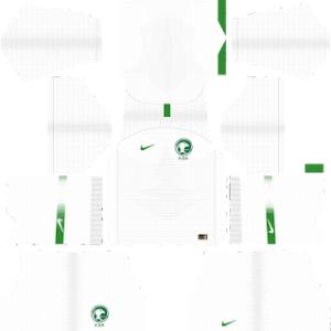 Saudi Arabia World Cup Kits 2018 Dream League Soccer