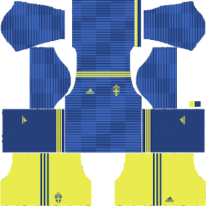 Sweden Away Kit World Cup 2018