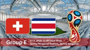 Switzerland vs Costa Rica Live Streaming Fifa World Cup 2018