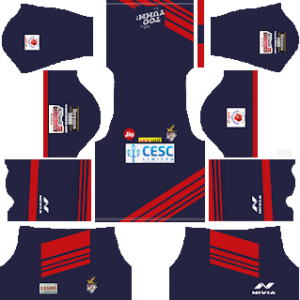 63a6e2773 atk kolkata away kit 2018-2019 dream league soccer