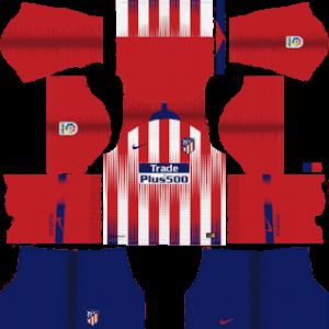Atletico Madrid Kits 2018/2019 Dream League Soccer