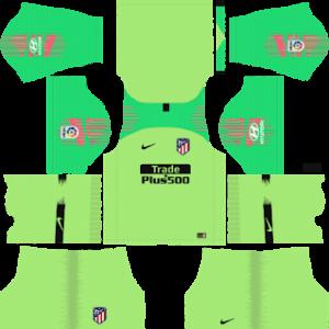 atletico madrid goalkeeper away kit 2018-2019 dream league soccer