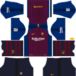 Barcelona Kits 2018-2019 Dream League Soccer