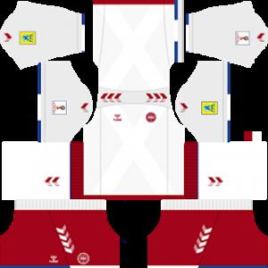 Denmark 2018 world cup away kit