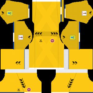 Denmark 2018 world cup goalkeeper Third kit