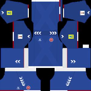 Denmark 2018 world cup goalkeeper away kit