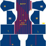 F.C. Barcelona Kits 2011/2012 Dream League Soccer