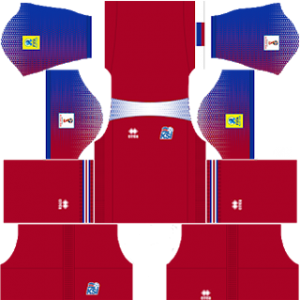 Iceland 2018 world cup goalkeeper home kit