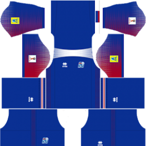 5d855910f74 Iceland World Cup Kits 2018 Dream League Soccer