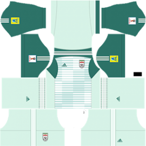 Iran 2018 world cup goalkeeper away kit