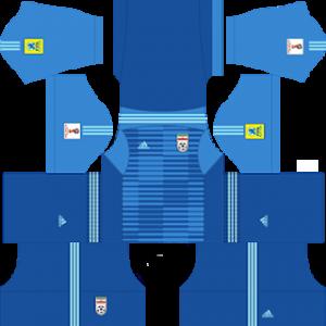 Iran 2018 world cup goalkeeper third kit