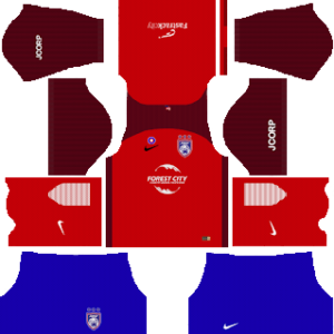 Johor Darul Takzim away v1 kit 2018-2019 dream league soccer