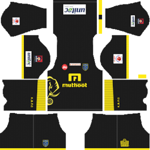 kerala blasters away kit 2018-2019 dream league soccer