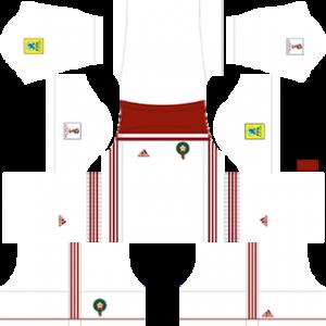 Morocco 2018 world cup away kit