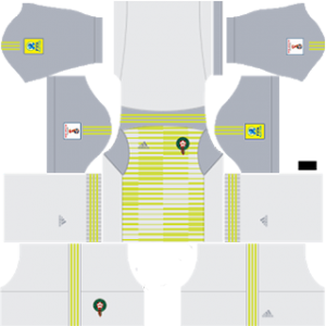 Morocco 2018 world cup goalkeeper third kit