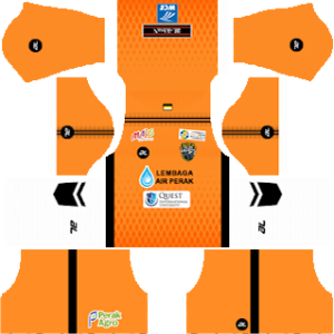 Perak FA goalkeeper away kit 2018-2019 dream league soccer