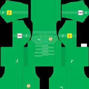 Senegal 2018 world cup goalkeeper away kit
