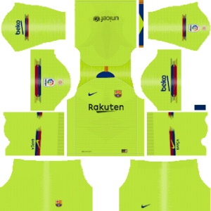 Barcelona Away Kit 2019