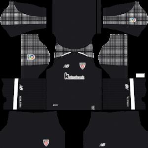 athletic bilbao 2018-19 dream league soccer goalkeeper home kit