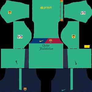 barcelona 2011-2012 dls third kit