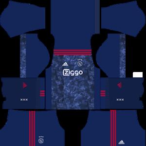 AFC Ajax DLS 2017-2018 Away Kit