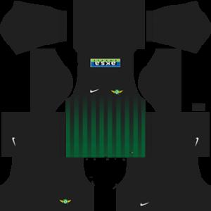 Akhisar Belediyespor DLS 2017-2018 Goalkeeper Kit