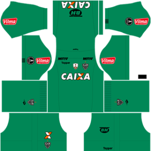 Atletico Mineiro DLS 2017-2018 Goalkeeper Away Kit