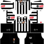 Atletico Mineiro Kits 2017/2018 Dream League Soccer – 512×512 Atletico Mineiro Kits DLS 2018