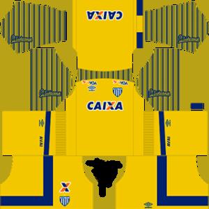 Avai FC DLS 2017-2018 Goalkeeper Home Kit