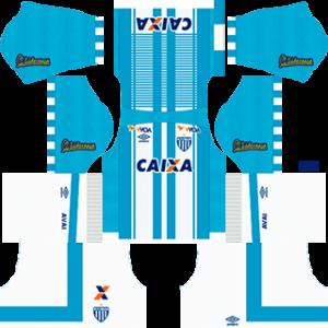 Avai FC Kits 2017-2018 Dream League Soccer