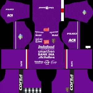 Bali United goalkeeper home kit 2018-2019 dream league soccer