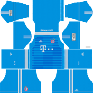 bayern munich goalkeeper away kit 2018-2019 dream league soccer
