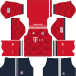 Bayern Munich Kits 2018/2019 Dream League Soccer