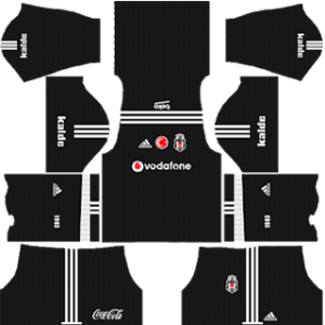 Besiktas J.K 2017-18 Goalkeeper Third Kit