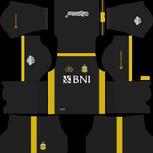 Bhayangkara FC goalkeeper home kit 2018-2019 dream league soccer