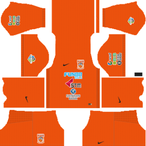 Borneo FC Kits 2017/2018 Dream League Soccer