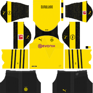 Borussia Dortmund Kits 2018 2019 Dream League Soccer