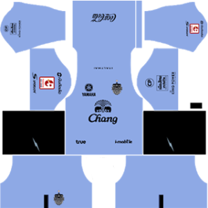 Buriram United 2017-18 DLS Goalkeeper Away Kit