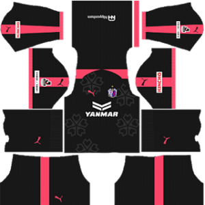 Cerezo Osaka DLS 2017-2018 Goalkeeper Home Kit