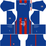 Cerro Porteno Kits 2017/2018 Dream League Soccer