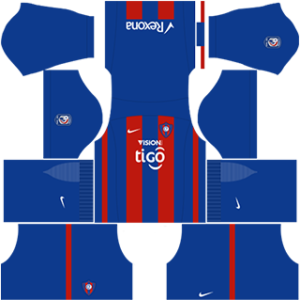Cerro Porteno Kits 2017-2018 Dream League Soccer