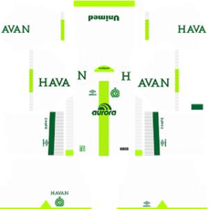 Chapecoense DLS 2017-18 Away Kit