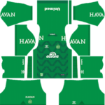Chapecoense Kits 2017/2018 Dream League Soccer