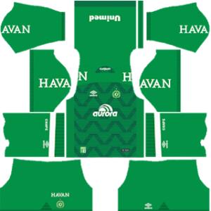 Chapecoense Kits 2017-2018 Dream League Soccer