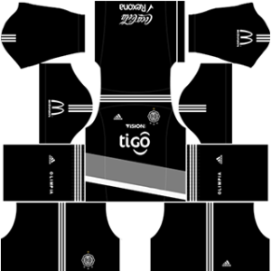 Club Olimpia DLS 2017-2018 Away Kit