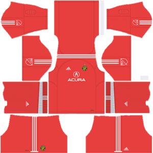 Columbus Crew SC DLS 2017-2018 Goalkeeper Home Kit