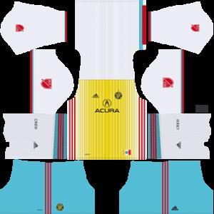 Columbus Crew SC DLS 2017-2018 Third Kit