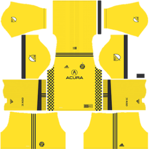 Columbus Crew SC Kits 2017-2018 Dream League Soccer