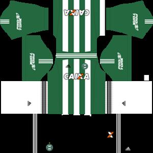 Coritiba FC DLS 2017-2018 Away Kit